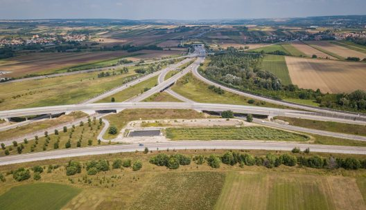 Autobahnknoten in Niederösterreich