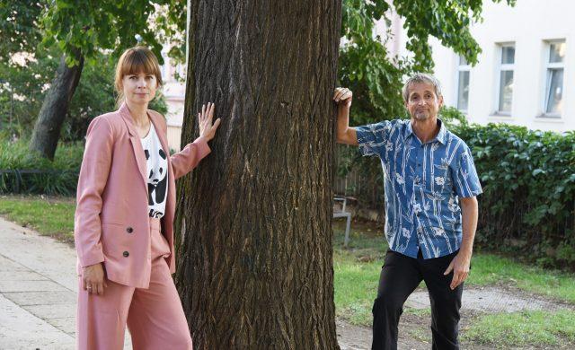 WWF-Programmleiterin Hanna Simons und Umweltmediziner Hans-Peter Hutter