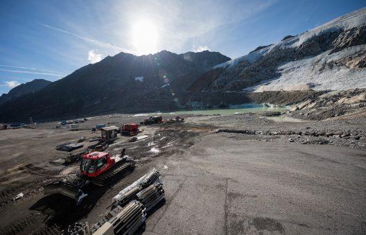 Gletscher Arena Sölden, September 2020