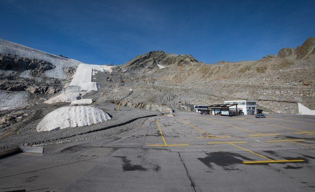 Gletscher Arena Sölden September 2020