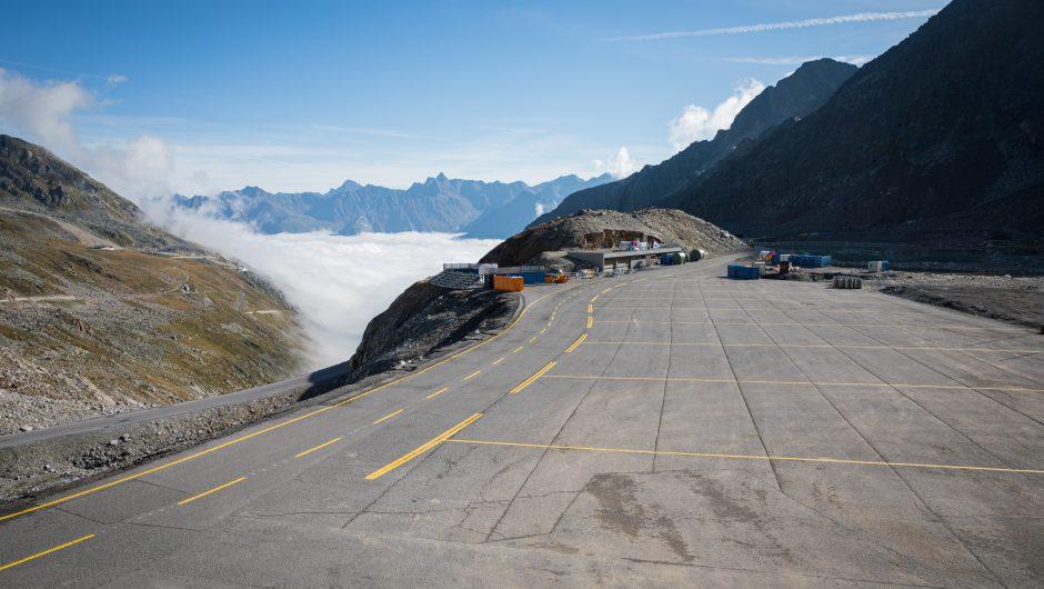 Skigebiet in Tirol - Parkplatz 2020