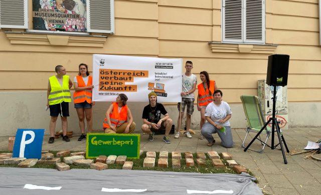 """Appell der Jugend"" an Regierung: Flächenfraß stoppen statt Zukunft verbauen"